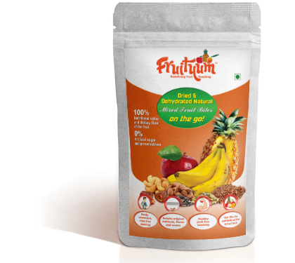 Fruityum Product Deied and dehydrated